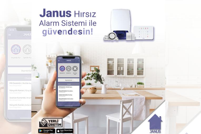Janus Kablosuz Hırsız Alarm Sistemi